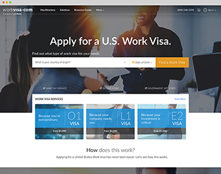 Preview image of WorkVisa.com